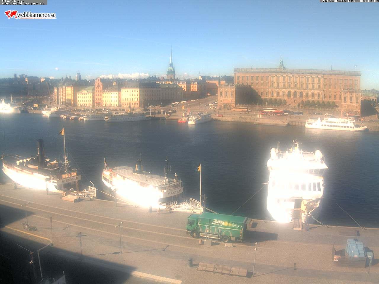 Webbkamera - Stockholms inlopp