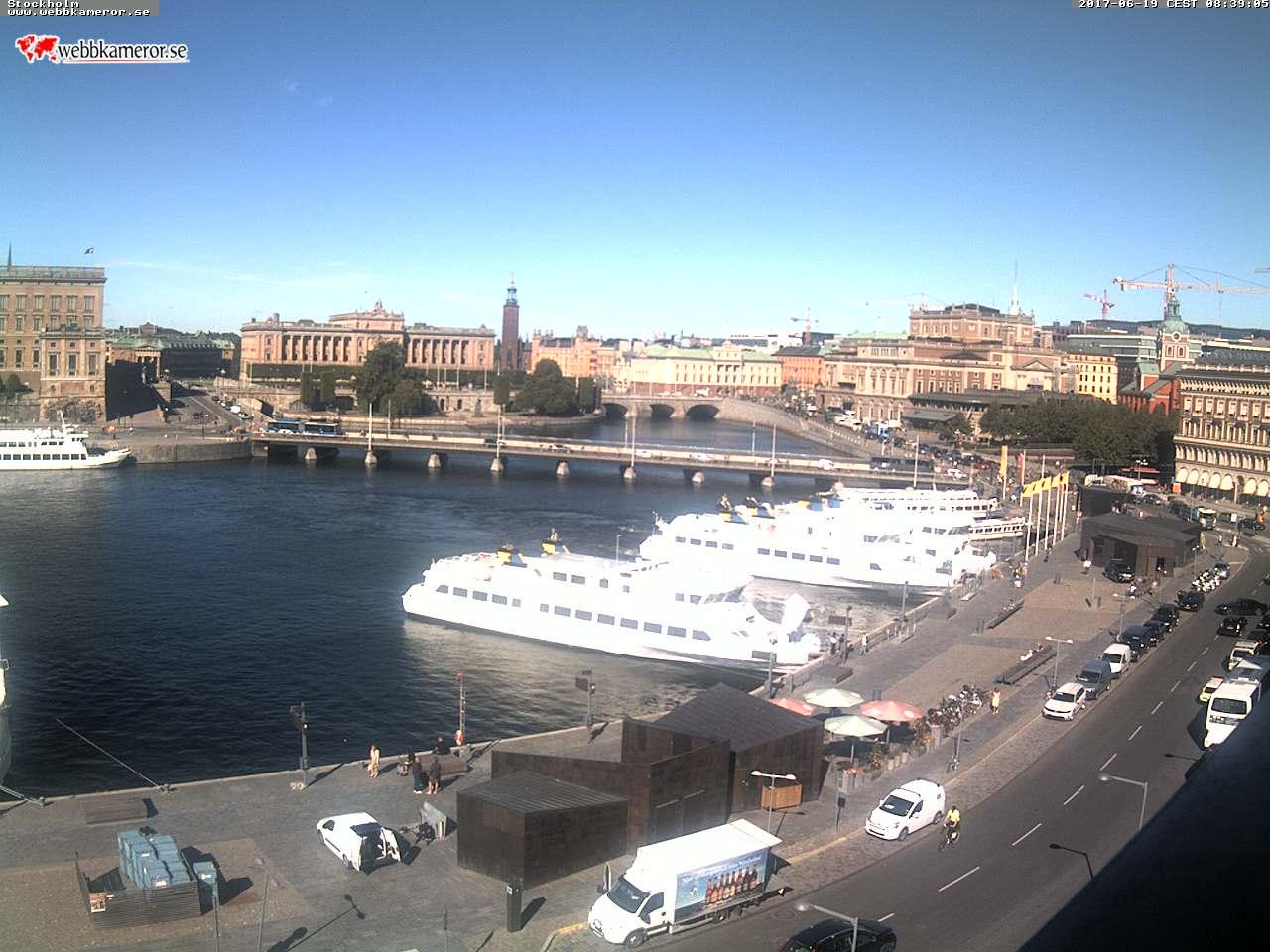Webcam Stockholm, Schweden